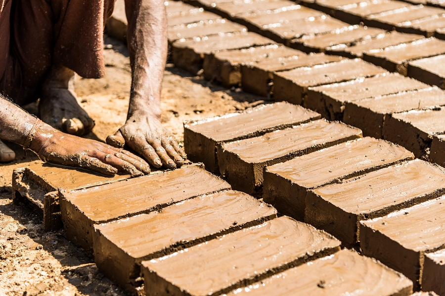 brick-making-india